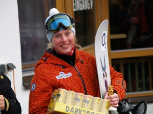 klára koukalová - snowboardcross