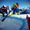 Sedrun: Snowboardcross a šestnáct Čechů v krytu