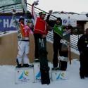 David Bakeš třetí v evropském poháru SBX v Puy Saint Vincent