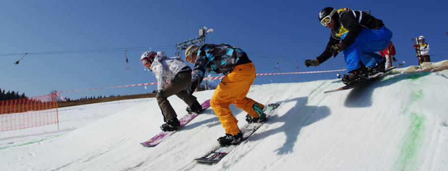 Snowboardcross kemp Dolní Morava 2011