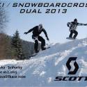 Snowboardcross a skicross Dual KO 2013